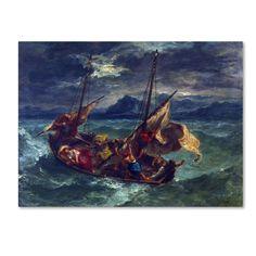 Eugene Delacroix 'Christ On The