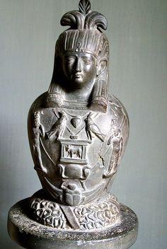 Vatikanische Museen, Museo Gregoriano Egizio, Gott Osiris-Canopus (God Osiris-Canopus) Found en Hadrian Villa's in Tivoli