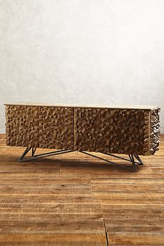Angle-Edged Console - anthropologie.com