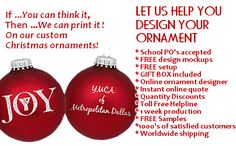 Church Fundraising Idea - $2.25 custom imprinted fundraiser ornaments.