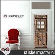 Schuurdeur deursticker