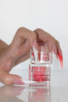 Colori Acrilici Crystal Nails