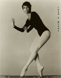 Joan Myers Brown - who made history as one of the first black dancers in a white dance company