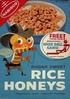 old cereal boxes | Cereal Boxes - Buffalo Bee (late)