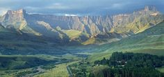 Drakensberg, South Africa - This was my stomping ground growing up. Thanks Mum and Dad for all the camping trips to Royal Natal National Park. Durban South Africa, Africa Destinations, Holiday Destinations, Namibia, Kwazulu Natal, Out Of Africa, Countries Of The World, Places To See, Uganda