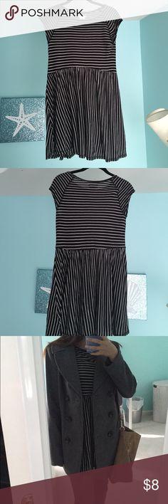 Short Sleeve Shift Dress Short dress, comfy, soft material. Sleeves a little shorter than a regular shirt Cooperative Dresses Mini