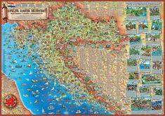 Hrvatska Karta Djecja Karta Hrvatske Djecja Mapa Hrvatske Dino S Maps Hrvatska Karta Croatia Map Aerial Croatia