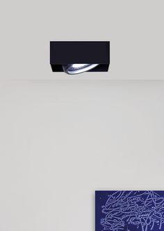 FORMAT - Lampada da semi-incasso da soffitto alogena / LED