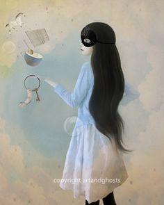 """Art & Ghost Illustration  """"The Conjurer"""""""