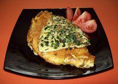 Székely Konyha: Szalonnás-zöldhagymaszáras omlett Quiche, Hungary, Breakfast, Food, Morning Coffee, Essen, Quiches, Meals, Yemek