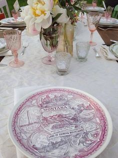 the perfect find for my vintage table setting