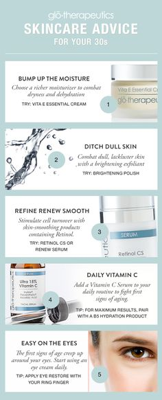 Skincare Advice For Your 30s