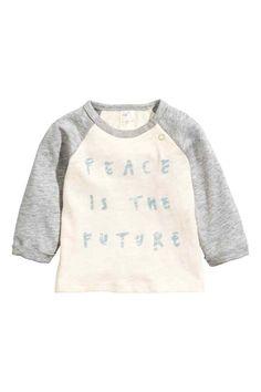 T-shirt à manches longues   H&M