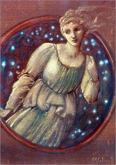 Edward Burne-Jones - Nymph of the Stars