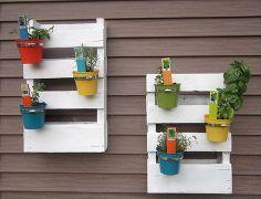 1000 id es sur le th me palette de jardin d 39 herbes aromatiques sur pinterest herbes - Idee bricolage jardin ...