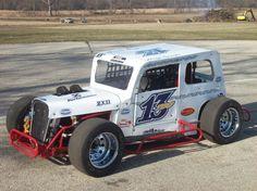 Greg Sparks Dwarf car sponsored by EASchaeffer Oil Co. an independent AMSOIL dealer
