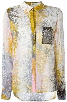 Diane Von Furstenberg abstract print shirt Abstract Print c7fd47360