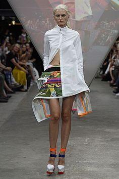 London Fashion Week Day 1 Fyodor Golan Spring/Summer 2015 Ready to wear  12 September 2014