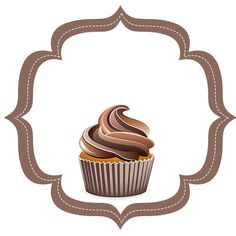 Confection Creations by BellaNicole Cupcake Logo, Cupcake Card, Cupcake Boxes, Logo Chef, Logo Doce, Sweets Images, Baking Wallpaper, Cake Icon, Diy And Crafts