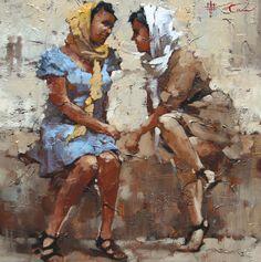 Andre Kohn, pintor figurativo impresionista, pintor impresionista rusa, el arte figurativo, Pinturas Figurativas, impresionismo Ruso, Santa ...