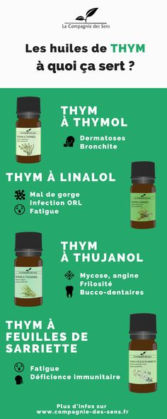 A quoi servent chacune des huiles essentielles de Thym ? Ce nest pas parce que здоровье Coconut Oil Uses, Naturopathy, Medicinal Herbs, Acupressure, Health Problems, Better Life, Healthy Tips, Natural Health, Body Care