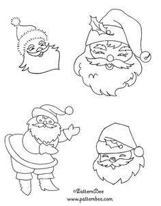 Aujourd' hui quelques dessins gratuits pour broder des petits cadeaux pour Noel en redwork... pères Noël, anges, rennes, cloches, petits chanteurs, sapins ...etc. On me le demande, alors , comme il vaut mieux s' y prendre à l' avance... Broderies main...