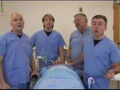 Breathe - the Laryngospasms are a group of male Nurse Anesthetists that have the BEST SINGING VOICES!  Their songs are HYSTERICAL!  Listen to all of them.  I STILL laugh every time I listen!  You'll love them!