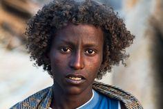 Afar boy at the market of Assaita  Ethiopia