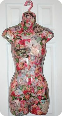 How to Decoupage.... I have one of these! Feeling inspired!
