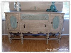 Antique Buffet Extreme Makeover
