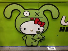 Ugly Dolls x Hello Kitty Collaboration Booth at SDCC 2013 by Christian Lau, via Flickr