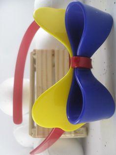 fa2b32c506 Lindo Arco Laço Cores - Infantil em Acrílico de alta Qualidade. Coleção  Fita  Flor Acessórios. (31)98646-5913 - fitafloracessorios gmail.com