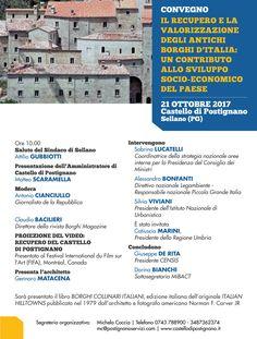 Italia Medievale: Il recupero e la valorizzazione degli antichi borg...