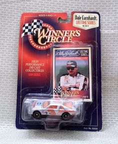 1997 Dale Earnhardt Winner's Circle Die Cast Collectible 1/64 Scale New NASCAR