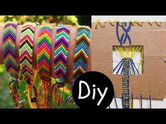 DIY #5: Fazedor de pulseira Friendship Bracelets (tear pulseira hippie) | Igor Saringer | Cantinho do Video