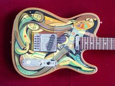 Gorgeous Guitar Art and Decoration | Design Inspiration + Visual Art Inspiration | Designflavr