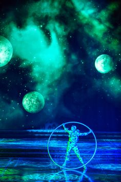 We're transporting you out of this world! | Zarkana by Cirque du Soleil