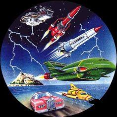Thunderbirds are go! #googie
