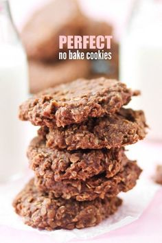 Perfect No Bake Cookies -- if you have trouble getting your No Bake Cookies to set up, this recipe is for you!! EXACT instructions to get them to turn out every time!!