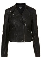 Topshop Clean Biker Jacket--totally want this.