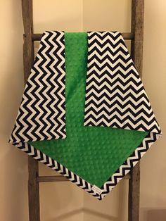A personal favorite from my Etsy shop https://www.etsy.com/listing/224615435/chevron-baby-blanket-gender-neutral
