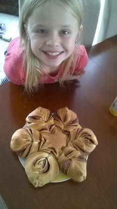 Ciasto drożdżowe Gwiazda