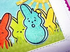 Simon Says Stamp March Card Kit - My Kind of Peep - It had to be done!