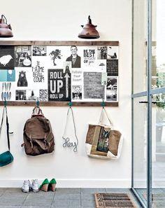Coole Garderobe selber machen. So wird die garderobe zum absoluten Blickfang