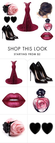 """""""untitled #13"""" by sarahmullen-yugioh ❤ liked on Polyvore featuring beauty, Lime Crime, Christian Dior and Dollydagger"""