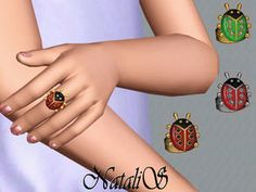 Sims 3 Rings