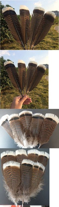 Hot sale beautiful 5-100 pcs Natural scarce turkey feathers 30-35 cm //12-14 inch
