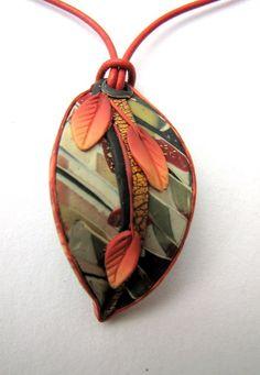Leaf Pendant 1 by Ghost Shift, via Flickr