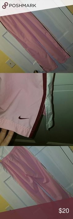 Nike pants EUC, hardly worn, no stains or flaws. 100% polyester Nike Pants Track Pants & Joggers