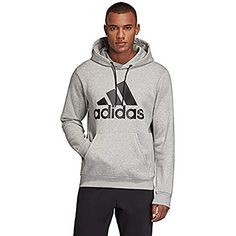 Discounted adidas Men's Must Haves Badge of Sport Pullover French Terry Black/White X-Large #adidasMen'sMustHavesBadgeofSportPulloverFrenchTerryBlack/WhiteX-Large Sport Online, Asics Men, Sports Hoodies, Nike Lunar, Adidas Performance, Mode Online, Under Armour Men, Online Shopping Stores, Mens Clothing Styles